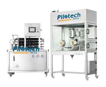 YC02 微型超高温杀菌机和充填室